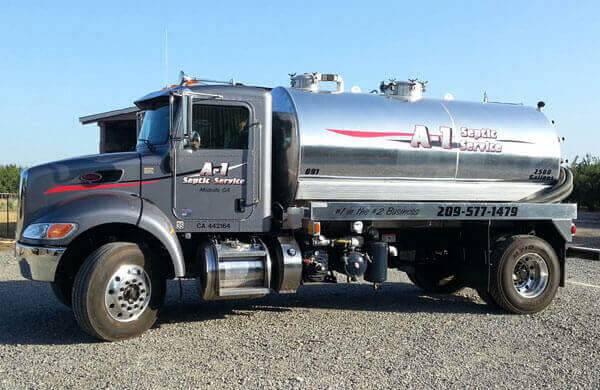 Septic Tank Pumping, Cleaning, Modesto, CA | Merced