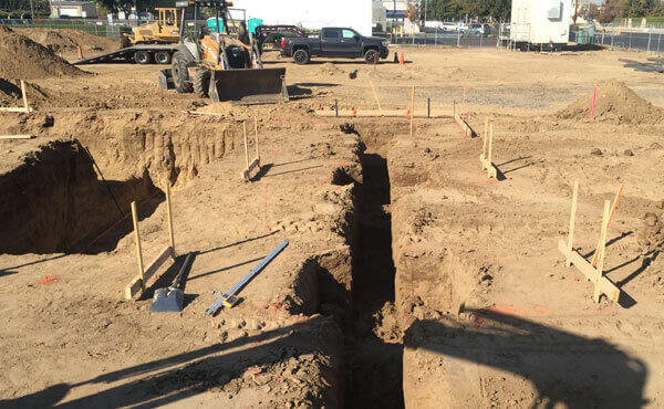 Trenching/Excavation for Utilities, Footings